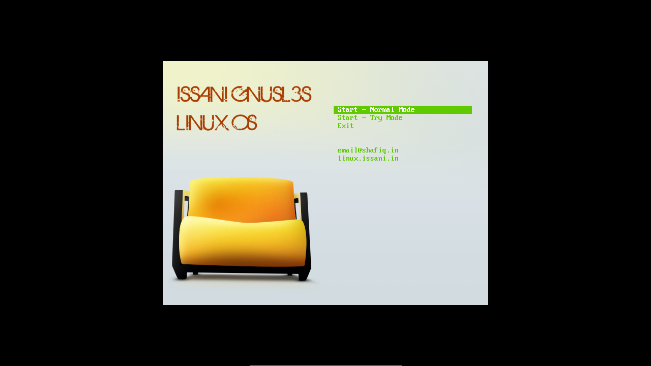ISSANI GNUSL3S LINUX OS